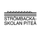 Strömbackaskolan Piteå logo